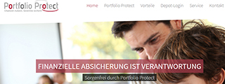 Portfolioprotect Homepage